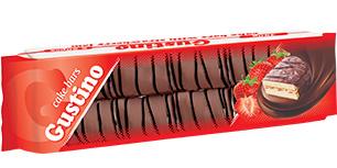 0145. GUSTINO суха паста ванилия с крем ванилия и конфитюр ягода 450 гр.