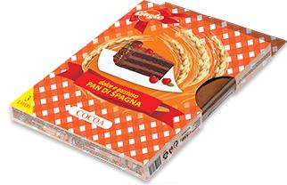 0156. Домакински блат какао 3 бр. блатове в кутия – 550 гр.