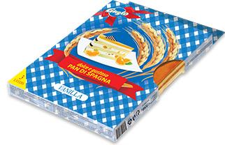 0155. Домакински блат ванилия 3 бр. блатове в кутия – 550 гр.