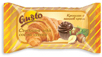 0001. Croissant Gusto with cocoa cream