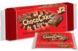 0093. GUSTO суха паста какао с какаов крем 12 бр. X 25 гр.