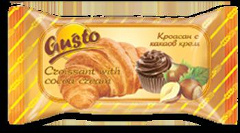0001. Кроасан Gusto с какаов крем